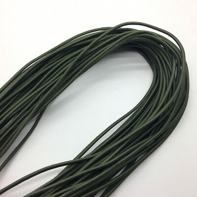 5yds Army green Trong Elastic Bungee Rope Shock Cord Tie Down DIY Jewelry Making