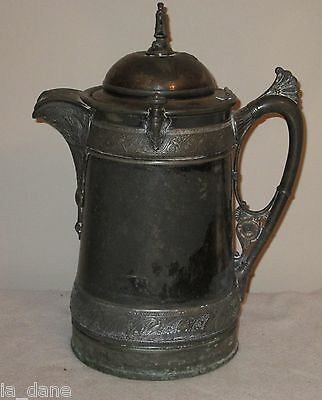 Reed & Barton Silver Plated Water Pitcher Late 1800's