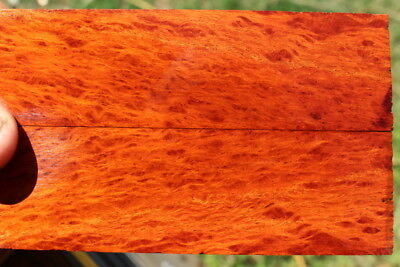 Lace Sheoak Bookmatched Scales  Knife Handle Material 57