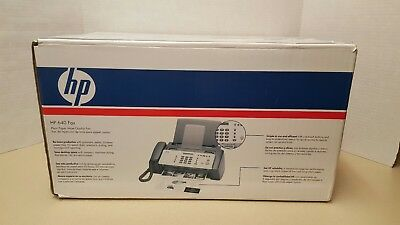 HP 640 Fax Plain Paper Inkjet Quality Machine Copier New OPEN BOX Unused
