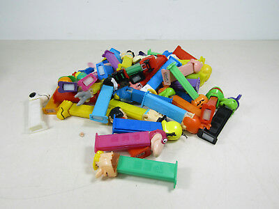 Lot of 42 Vintage Pez Dispensers Assorted Characters Themes Muppets + More