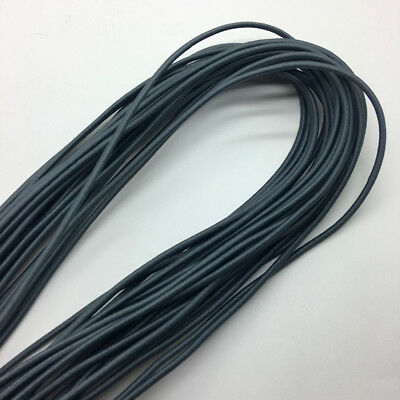 5yds Deep gray Trong Elastic Bungee Rope Shock Cord Tie Down DIY Jewelry Making