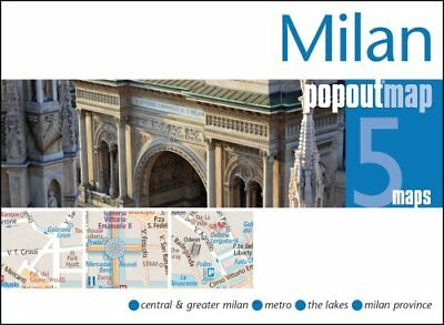 Milan PopOut Map by PopOut Maps 9781910218051 (Sheet map, folded, 2015)