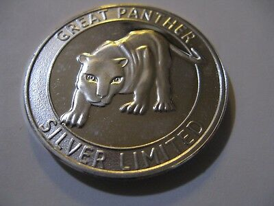 Great Panther Limited 1oz Silver Round - Hard to find