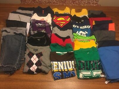 FALL WINTER LOT OF 32 PIECES SIZE 3T BOYS CLOTHES Carter Old Navy Okie Dokey