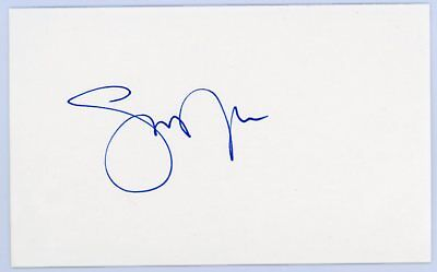 STEVE NASH Autographed Signed 3x5 Index Card - LAKERS Basketball AUTO