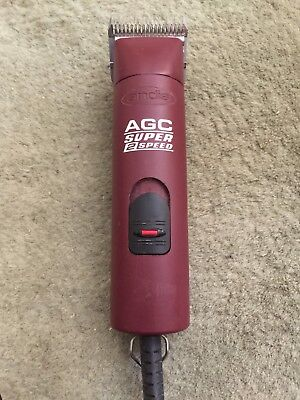 Andis AGC2 Super 2-Speed 120V Detachable Blade Clipper, Animal Grooming