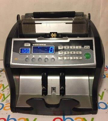 Royal Sovereign RBC-1003BK Bill Counterfeit Detector Counter Tested Works