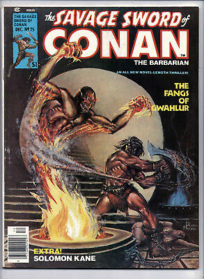 The Savage Sword of Conan the Barbarian #25, Marvel, 1977, VG-F condition