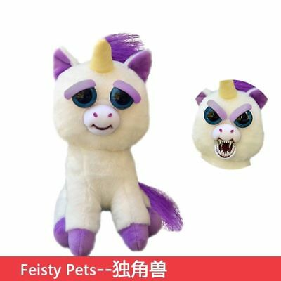Feisty Pets Toys Christmas Funny Expression Stuffed Animal Doll For Kids