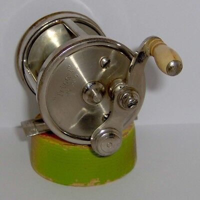 "ANTIQUE A F MEISSELBACH & BRO. ""Tripart"" 80 YD BAIT CASTING REEL No 580 * NICE!"