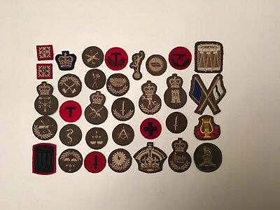 vintage canadian army rank & trade patches lot10