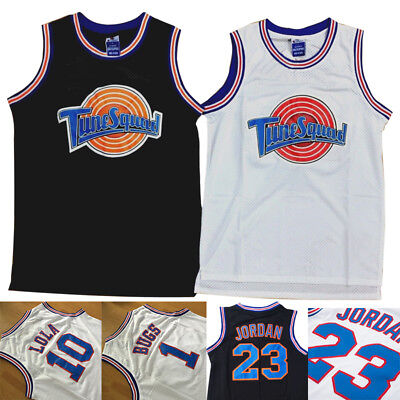 Space Jam Tune Squad Basketball Jersey Lola Bunny Bugs Bunny White S M L XL