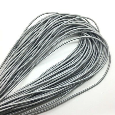 5yds Silver gray Trong Elastic Bungee Rope Shock Cord Tie Down Jewelry Making
