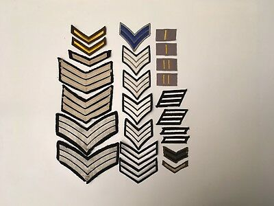 vintage u.s.army stripes patches
