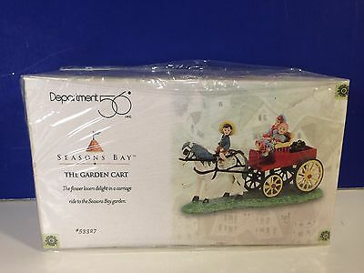 Dept 56 THE GARDEN CART w/box Seasons Bay Village Combine Shipping!