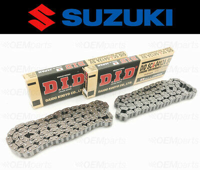 Set of (2) D.I.D Timing Cam Chain OEM Suzuki Volusia 800, Boulevard C50/M50