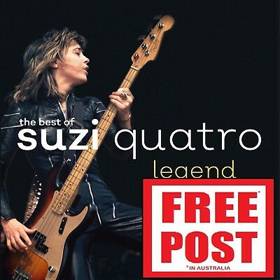 SUZI QUATRO - LEGEND : THE BEST OF D/Remaster CD ~ GREATEST HITS 70's *NEW*