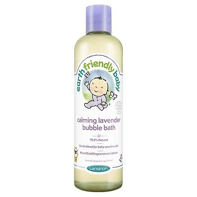 Earth Friendly Baby Calming Lavender Bubble Bath Ecocert Nourish Your Baby Skin