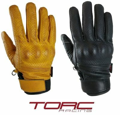 Torc Beverly Hills Gloves Leather XS-3XL Motorcycle Clothing