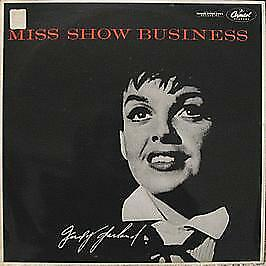 Judy Garland - Miss Show Business - Capitol Records - 1955 #746310