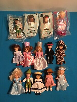 McDonalds Happy Meal Collectible Madame Alexander Dolls Lot Of 14