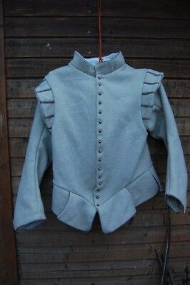 Late white 16th century doublet, reenacment