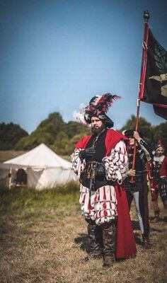 16th cen. landsknecht uniform, reenactment
