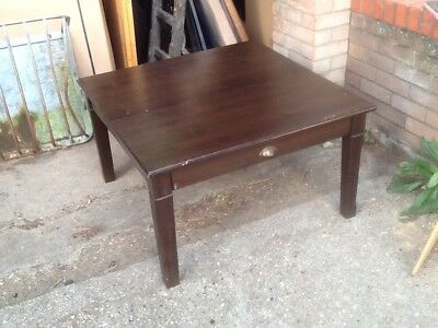 Ikea Markör Pine Coffee Table With 2 X Drawers