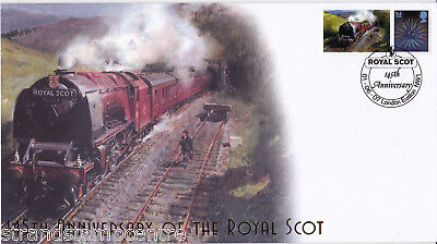 2007 The Royal Scot 145th Anniversary - Buckingham 'Railway' Series Cover