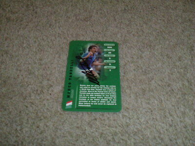 Marco Tardelli - Italy - Signed Top Trumps Football Legend Trade Card