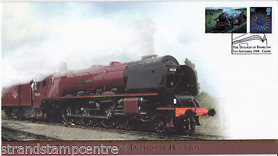 2008 Duchess of Hamilton 70th Anniversary - Buckingham 'Railway' Series Cover