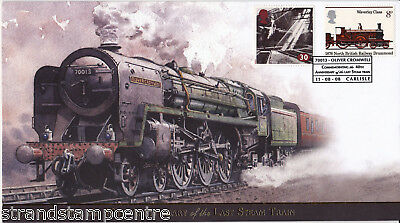 2008 The Last Steam Train 40th Anniversary - Buckingham 'Railway' Series Cover