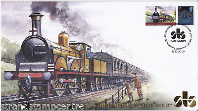 2009 Stephen Locomotive Society 100th Anniv - Buckingham 'Railway' Series Cover