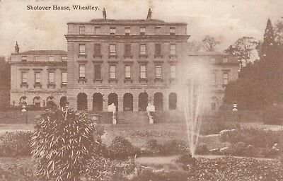 Postcard Shotover House Wheatley Oxford Country Series PU 1916 to Bromborough