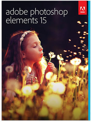 Adobe Photoshop Elements 15 - Official Download With License Key For Windows
