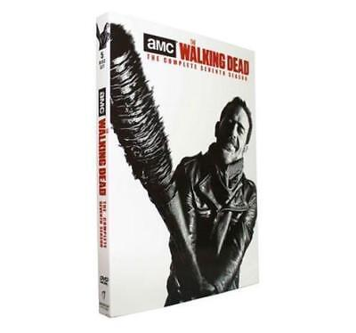 The Walking Dead season 7 (DVD , 2017 ,5-Disc Set)