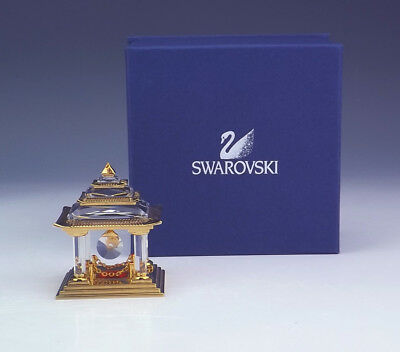 Swarovski Crystal Memories - Japanese Temple Glass Figure - Boxed!
