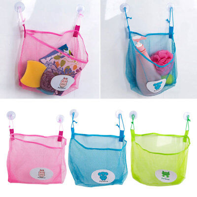 Baby Bath Bathtub Toy Mesh Net Storage Bag Organizer Holder Bathroom.