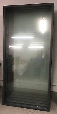 Framed Office Glass Partitions - Glass Dividers 90x205cm