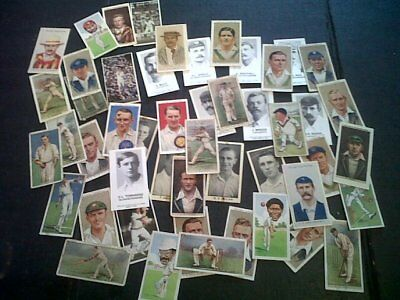 100 Cricket Collector / Cigarette Cards Inc 1894 South African Team Reprints