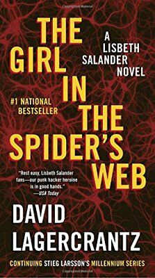 The Girl in the Spiders Web (Millennium Series)