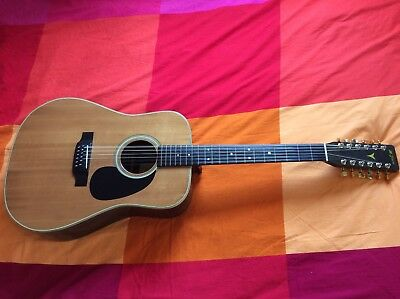 K.Yairi DY28 Vintage 1977 12 String Acoustic Guitar Beautiful JACARANDA