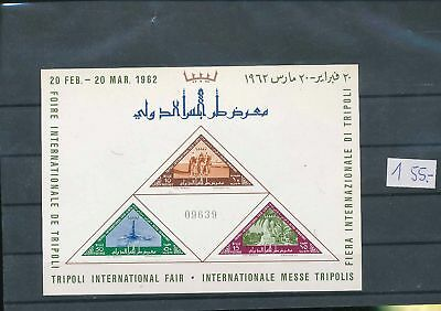 35666/ Libyen ** MNH Block 01 Internationale Messe