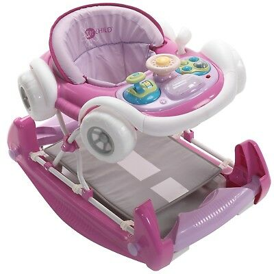 My Child Coupe Suitable From 6 Months Walker Pink With Detachable Play Tray