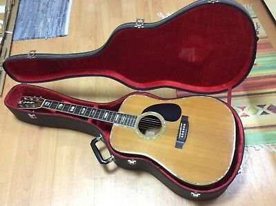 K.Yairi YW1000 Vintage 1978 Acoustic Guitar Beautiful JACARANDA ROSEWOOD