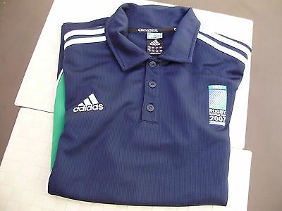 Maillot Rugby Equipe De France Officiel 2007 Taille Xl Adidas Coupe Du Monde
