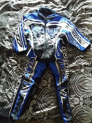 Boys Motocross Jacket And Trousers