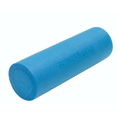 Fitness Mad Sports Runners Muscle ITB Release Workout Tool Foam Roller Blue 6In