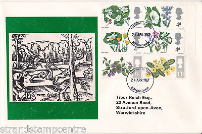 1967 Flowers - Scarce Tibor 'Hunting Dogs & Stag' Cover - Birmingham FDI